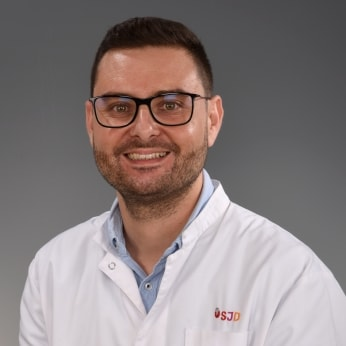 Sergi Cesar Díaz, cardiologist at the SJD Barcelona Children's Hospital