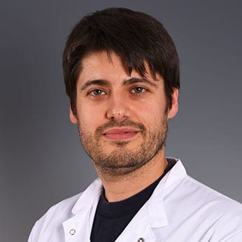David Vila Perez, paediatrician Sant Joan de Déu Barcelona Children's Hospital