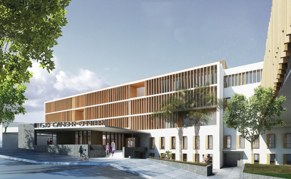Imatge simulada del futur SJD Pediatric Cancer Center Barcelona