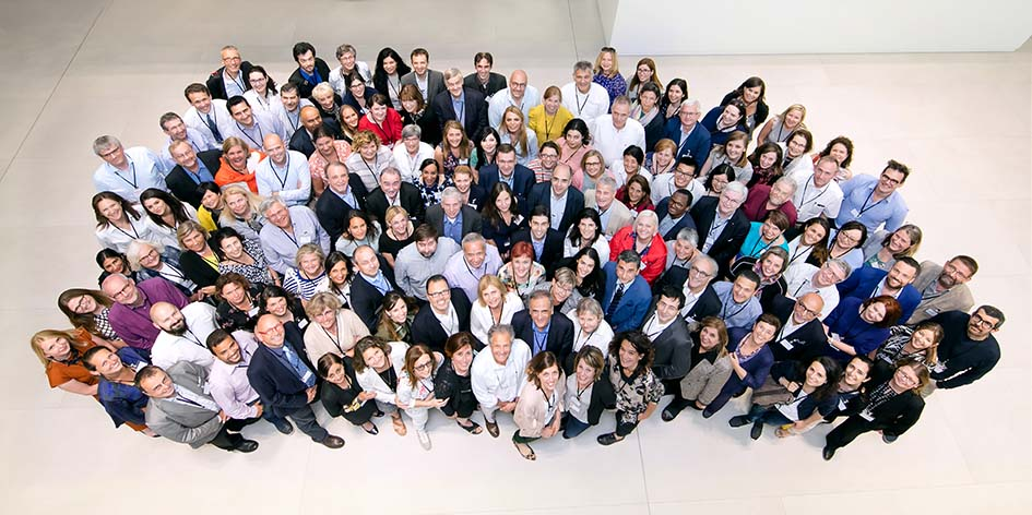 Innovative Medicines Initiative team's group picture