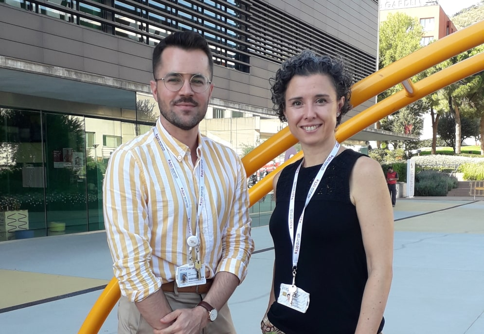 Antonio Martínez-Monseny and Mercedes Serrano, researchers at IRSJD