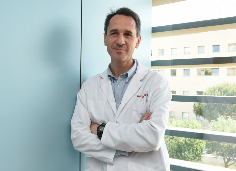 Joan Sánchez de Toledo, Head of the Pediatric Cardiology Service at the SJD Barcelona Children's Hospital.