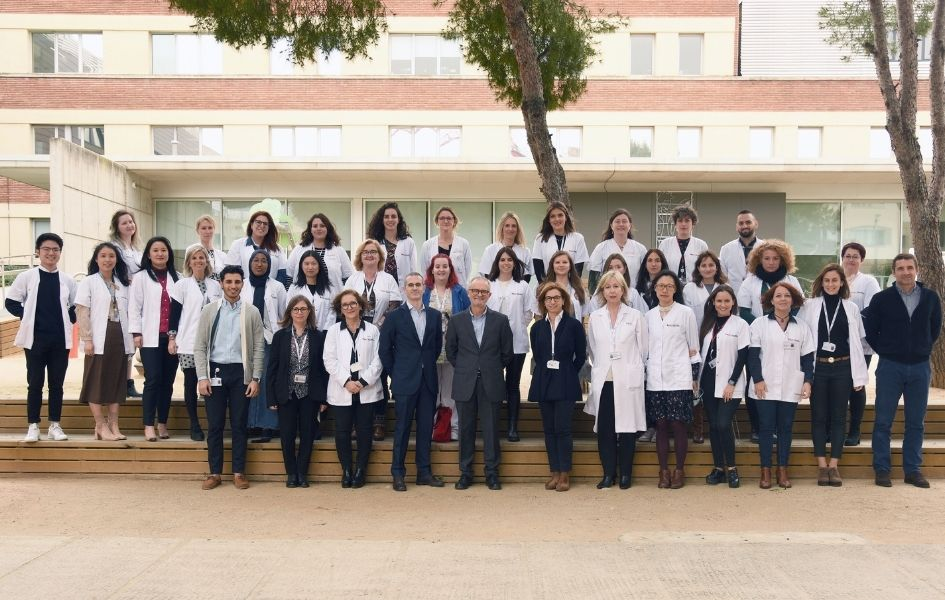 Team of the Department of International Patients of the SJD Barcelona Children's Hospital.